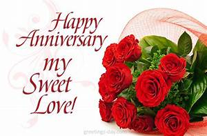 Happy Anniversary my Sweet Love...