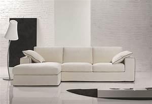 Housse Pour Canapé En Cuir : canap d 39 angle design cuir tissu modulable c t maison ~ Melissatoandfro.com Idées de Décoration