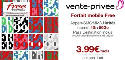 l offre vente priv 233 e free mobile d 233 j 224 d 233 voil 233 e