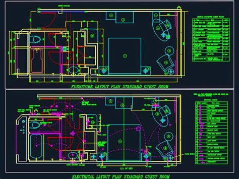 Living Room Electrical Layout by Hotel Guest Room Electrical Design Autocad Dwg Plan N