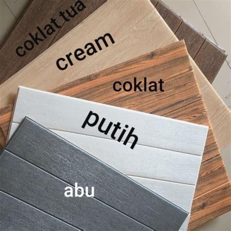 jual wallpaper dinding foam wood  serat kayu jakarta