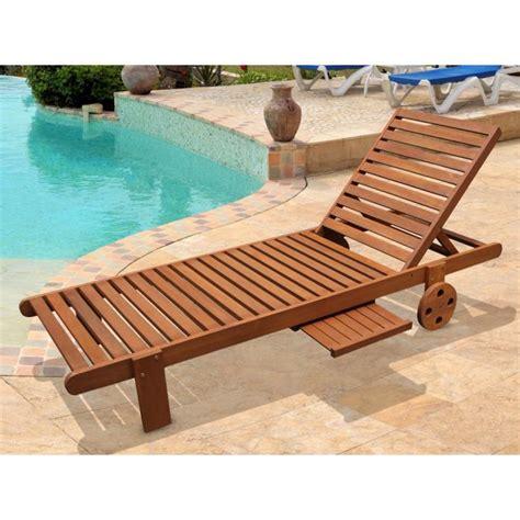 chaise longue bain de soleil bain de soleil en bois exotique avec achat
