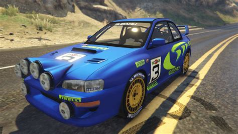 subaru wrc subaru impreza wrc 1998 world rally gta5 mods com