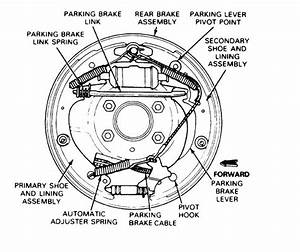 1997 Ford F150 Rear Brake Shoe Diagram