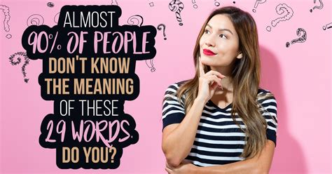 Words Most People Don't Know - Quiz - Quizony.com