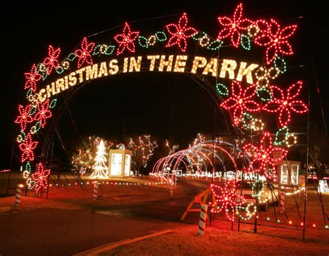 top christmas lights events in okc metro