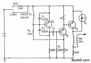 Magnet Actuated Ignition - 555 Circuit