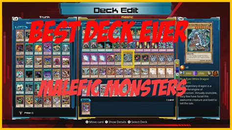 Yu Gi Oh Best Deck Best Deck In The Yu Gi Oh Legacy Of The Duelist