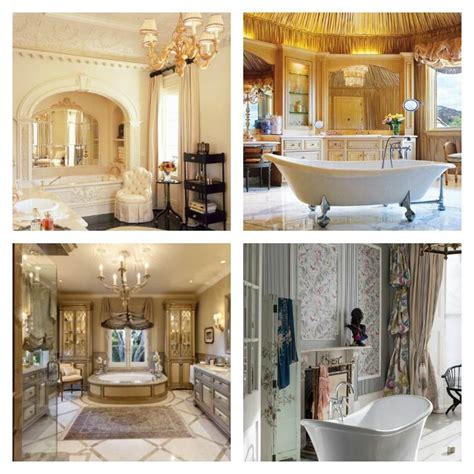 idees cuisines déco salle de bain de luxe et style baroque