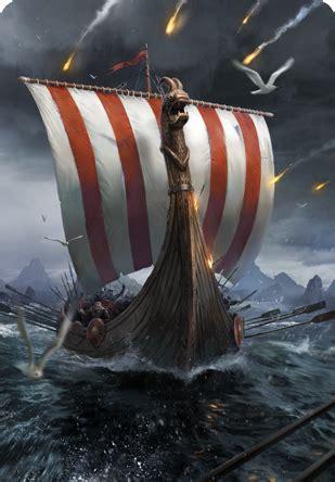war longship gwent card  official witcher wiki