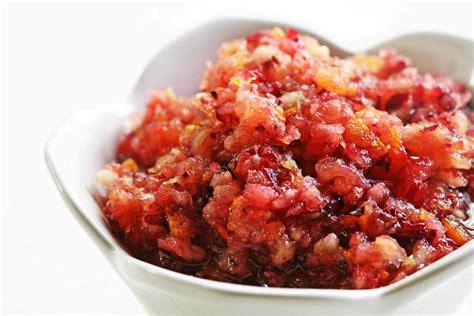 cranberry recipe cranberry relish recipe simplyrecipes com