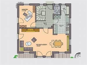 Haus Grundriss Ideen Einfamilienhaus : bescheiden einfamilienhaus grundriss ideen ab 3 zimmer ~ Lizthompson.info Haus und Dekorationen
