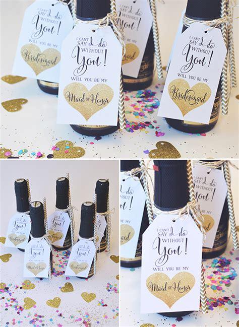 blog easy     bridesmaid idea  printable