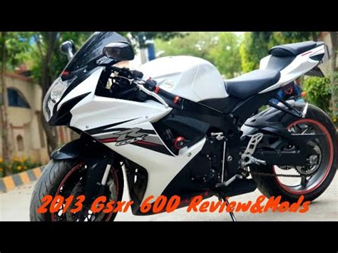 2013 Suzuki Gsxr 600 Specs by My 2013 Gsxr 600 Review Specs And Mods