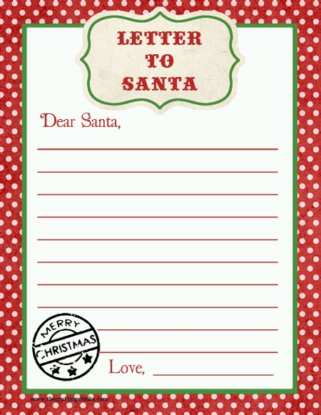 printable letter to santa with the rainy day search results for printable blank letter to santa 61211