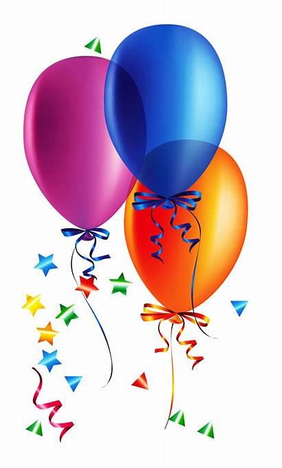 Transparent Balloons Confetti Clipart Yopriceville Previous