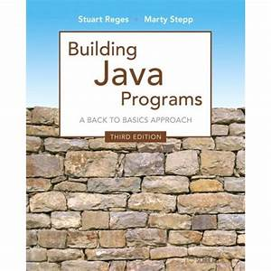 Solution Manual For Building Java Programs  3  E 3rd