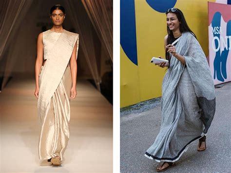 How To Drape Sari. How To Wear Cotton Saree Perfectly How