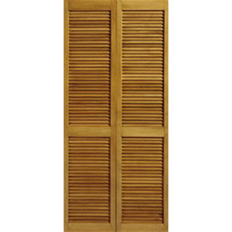 shop reliabilt 24 5 in x 6 ft 8 in louvered solid