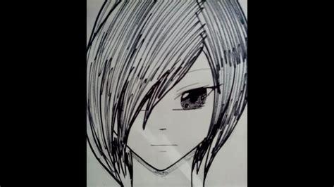 como dibujar  rostro anime de frente de una forma facil  sencilla youtube
