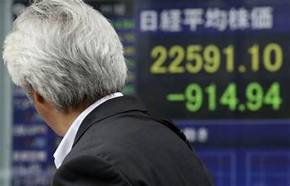 Market Drop Wall Fall Spreads Street