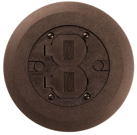 hubbell floor box covers and accessories hubbell pfbcbra non metallic floor box cover and