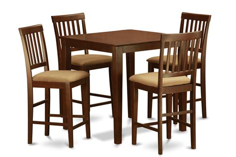 what is table height 5 piece counter height table set table and 4 kitchen