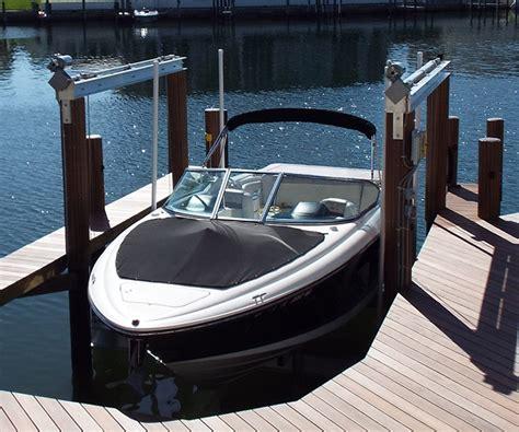 Marina Boat Lift by Boat Lifts Greg Orick Marine Construction