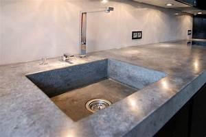 Outdoor Küche Beton : lithic arbeitsplatte aus beton industrial k che ~ Michelbontemps.com Haus und Dekorationen