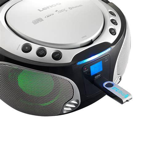 bluetooth cd player stereo audio fm radio cd player room usb bluetooth