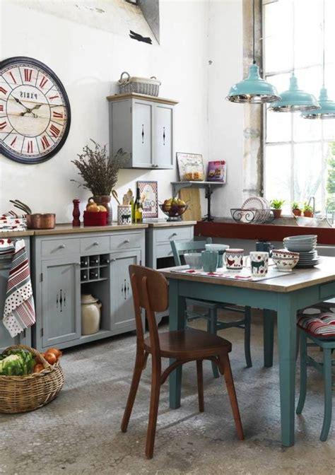 idee deco cuisine vintage shabby chic