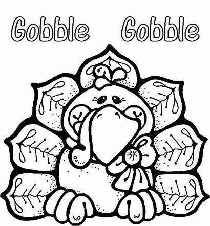 Coloring November Pages Printable Turkey
