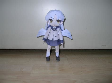 angel beats papercraft     papercraft