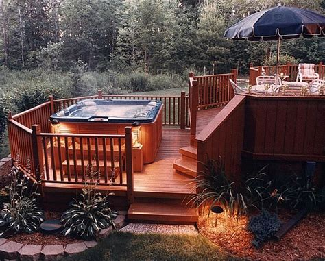 Tub On Deck by 25 Best Ideas About Tub Deck On Tub