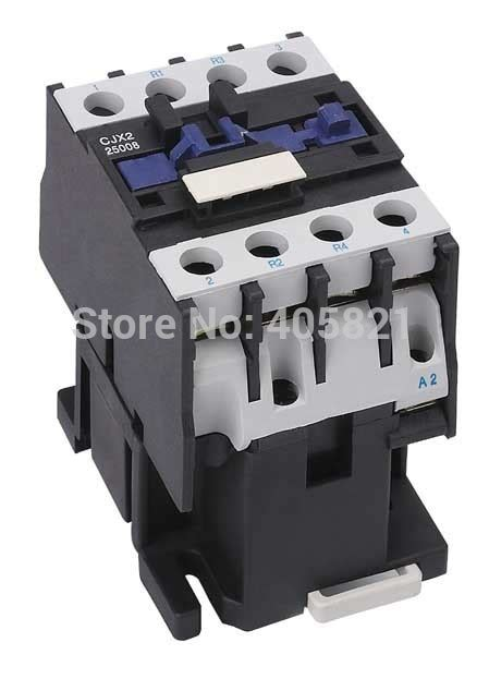 aliexpress buy cjx2 25008 cjx2 25004 4pole ac magnetic contactor 25a 4no or 2no 2nc from