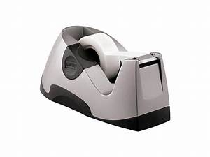 Staples Executive Desktop Tape Dispenser Silver Each