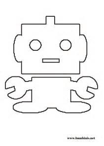 Printable Robot Coloring Page