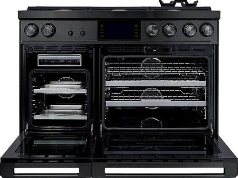 dacor contemporary  cu ft freestanding double oven dual fuel  part convection range