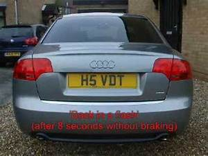 Longueur Audi A4 Break : audi a4 flashing brake light youtube ~ Medecine-chirurgie-esthetiques.com Avis de Voitures