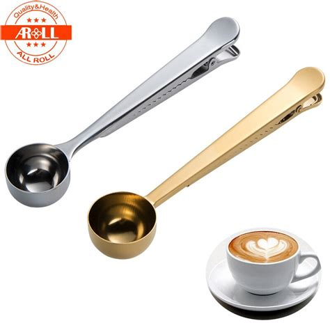 Also, scoop size is equal to 2 tablespoons of coffee, in case you want to use coffee scoops. One Cup Ground Tea Coffee Scoop Spoon Stainless Steel ...