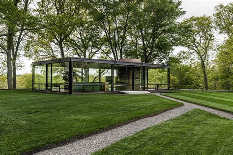 Glass House Johnson by Philip Johnson Glass House Meal Uncrate