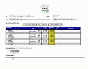 project weekly status report template excel 5 project reporting template excel excel templates