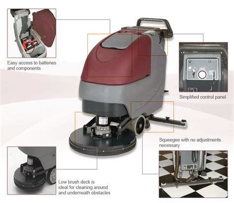 Minuteman Floor Scrubber E20 by Minuteman Floor Scrubber E20 Gurus Floor