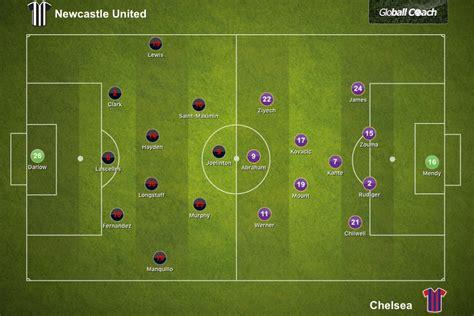 Newcastle United 0-2 Chelsea, Premier League: Tactical ...