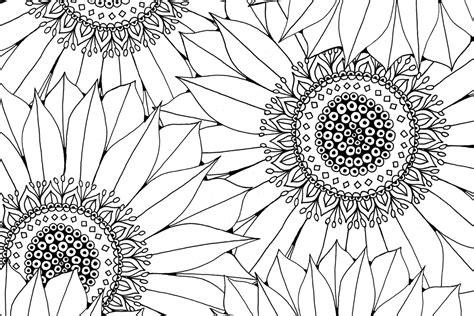 Sunflower Free Pattern Download