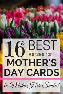 16 of the Best Verses for Mothers Day Cards That Say It All