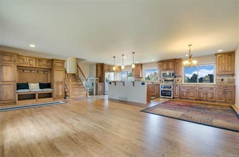 beautiful remodel     tri level floor plan