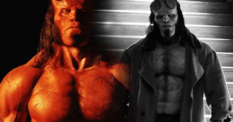 Hellboy Film First Look Images  Comics Talk News And