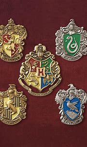 Hogwarts Häuser - Pins | Harry Potter | Elbenwald