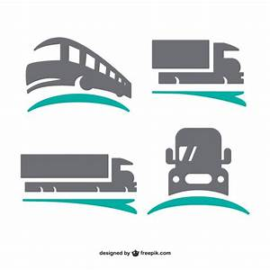 Transport logos set Vector | Free Download